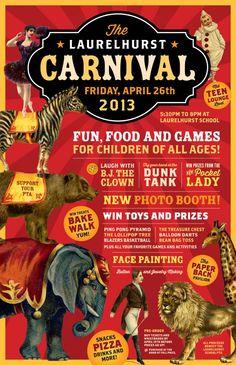 Laurelhurst  Carnival Poster by Deluxe