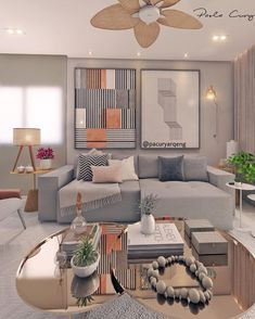 If you are looking for small living room ideas, put up with inspiration from our gallery of lovely small flavor designs to unlock the potential of your com Home Interior Design, Decor, Interior Design, Bedroom Decor, 1960s Home Decor, Home, Home Decor, Living Room Designs, Dream Living Rooms