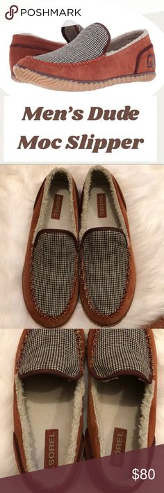 Sorel Slippers Men's Rustic Brown Redwood Moc Sorel Slippers. Bought, tried on but never worn! Info in pics. Sorel Shoes Loafers & Slip-Ons