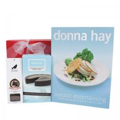 $60.00 - Donna Hay produces some of the best cook books in Australia. Her instant entertaining cook book provides plenty of inspiration for those seeking simple and special recipes for those entertaining occasions. Our Donna Hay Instance Entertaining Hampers is the perfect gifts for the lover of cooking. Our online gift hampers can be delivered Australia wide.