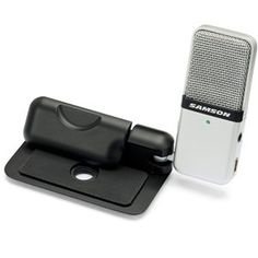 The Samson GO MIC Portable USB Condenser Microphone is the ideal portable recording microp...