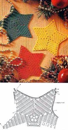 Crochet Snowflake Pattern, Crochet Motifs, Crochet Stars, Crochet Snowflakes, Crochet Doilies, Crochet Flowers, Crochet Stitches, Crochet Diy, Crochet Feather