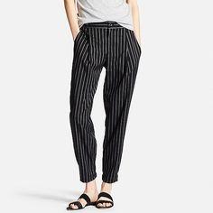 Uniqlo smart jogger trousers in dark grey