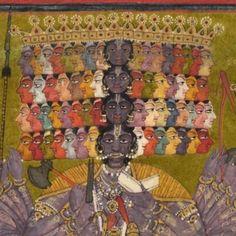 Krishna Vishvarupa, 1740. India.