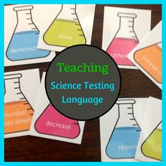 Science Vocabulary Matching Freebie for ELLs