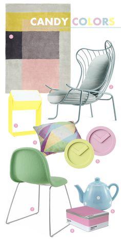 candy colors #pastels #candycolors #decor