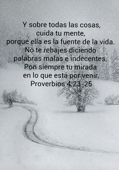 Proverbios 4:23-25