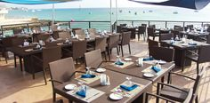 The Lobster Pot in Georgetown, Grand Cayman. One of Grand Cayman's favorite restaurants is now open after a long renovation. Beautiful oceanfront deck.