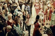 Sofia Coppola directing Marie Antoinette.