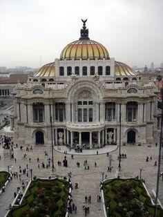 El palacio de bellas artes, Ciudad de México