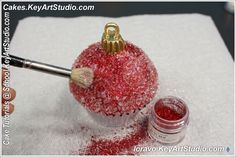 christmas ornaments cupcakes tutorial by keyartstudio ckaes 21 Tutorial: Christmas Ornaments Cupcakes
