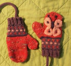 bfly_mittens by thecosmicfrog, via Flickr