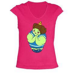 Camiseta Kokeshi Princesa Músculos