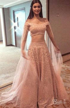 Contact the label for getting your dream outfit made. Best of the custom made Indian Groom & Bridal Indian Fashion Dresses, Indian Designer Outfits, Indian Outfits, Designer Dresses, Party Wear Lehenga, Red Lehenga, Lehenga Style, Indian Wedding Gowns, Wedding Dresses