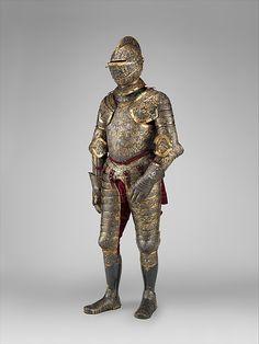 Armor of Henry II, King of France (reigned 1547–59)