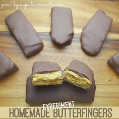 Sugartown Sweets: My Homemade Butterfingers Experiment!