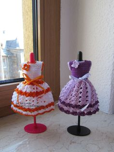 Roxcroche: Roupas de Boneca em Croche