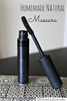 homemade Natural Mascara, maybe I'll try this sometime