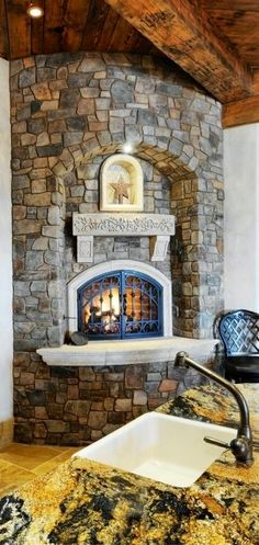 Kitchen Fireplace Storage Ideas on family room with tv on wall decorating ideas, fireplace diy, fireplace love, fireplace wood storage boxes,