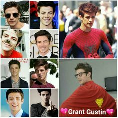 But do you realize if The amazing Tom Holland wasn't cast as Spider-Man and Grant wasn't the flash I think he'd be a good choice I mean... I MEAN