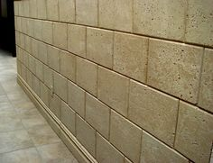 Precast Wall Block Panels with a Coral Textured Finish. Great for both interior and exterior. Concrete Wall Panels, Concrete Blocks, Interior Walls, Interior And Exterior, Coral Stone, Wall Finishes, Stone Tiles, Facade, Tile Floor