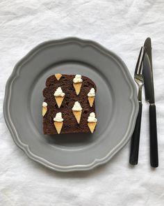Ice cream toast art by Eiko Mori (@estyle1010)