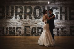 Romantic Burroughes Building Wedding | Betsy + Henry | Custom Lea-Ann Belter Gown | Image: Danijela Weddings