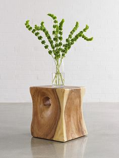 Interior HomeScapes offers the Peek a Boo Side Table, Chamcha Wood, Natural by Phillips Collection. Visit our online store to order your Phillips Collection products today. Yellow Home Accessories, Bedroom Accessories, Home Decor Accessories, Decorative Accessories, Flower Vases, Flower Pots, Wood Stumps, Wooden Garden Planters, Phillips Collection