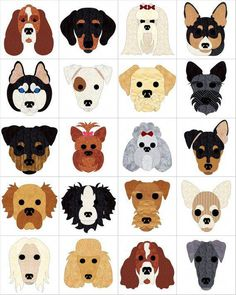 Dog Days Quilt Pattern (advanced beginner, wall hanging) Source by Dog Quilts, Cat Quilt, Animal Quilts, Barn Quilts, Felt Ornaments Patterns, Dog Ornaments, Quilt Baby, Baby Applique, Applique Quilts