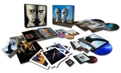 "Pink Floyd - The Division Bell 20th Anniversary Edition 180g 2LP/2 - 7"" Vinyl/1 CD/Etched Blue 12"" Vinyl & Blu-Ray Box Set"