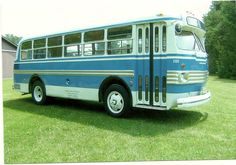 The first time I ever rode this bus was when it picked me up from grade school in Flint Michigan. It was still in a red and cream colored paint  scheme from it's first owner Auch Interborough Transit of Pennsylvania. Valley Coach had not re painted it yet and I remembered it because of that strange looking pointed hub meter on the right front wheel. It was the only one of Valley Coach Lines Marmon Herrington Ford 8MBs that ever had one.  It is still on the bus.