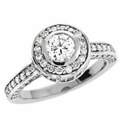 14K White Gold 0.94cttw Round Diamond Semi Mount Engagement Ring Jewelry Pot. $2325.99. 30 Day Money Back Guarantee. Your item will be shipped the same or next weekday!. 100% Satisfaction Guarantee. Questions? Call 866-923-4446. All Genuine Diamonds, Gemstones, Materials, and Precious Metals. Fabulous Promotions and Discounts!