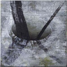 Miquel Barceló (Spanish, b. Dos postes [Two Poles], Mixed media on canvas, 230 x 230 cm. Sculptures, Artwork, Poster, Painting, Jewelry, Spanish, Mixed Media, Rodin, Mayo