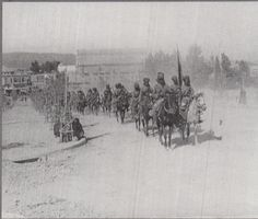 Capture of Damascus - Hodson's Horse in General Chauvel's march through Damascus 2 October 1918 World War One, First World, Bengal Lancer, British Army Uniform, Indian Army, Military Service, Korean War, British Colonial, Damascus