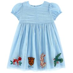 Gucci Blue Cotton Machine washable Mini Me embroidered sweatshirt ✓ Shipping in 24 hours ✅ 28 days to return ✓ Free returns ! Baby Girl Dresses, Baby Dress, Little Girl Outfits, Kids Outfits, Toddler Dress, Toddler Girl, Gucci Kids, Gucci Baby, Winter Baby Clothes