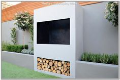 outdoor fireplace BBQ fire raised beds modern garden design london outdoor fireplace BBQ fire raised beds modern garden design london In modern cities, it is sort of impossible to take a . Modern Landscape Design, Modern Garden Design, Contemporary Garden, Modern Landscaping, Backyard Landscaping, Landscaping Ideas, Garden Design London, London Garden, Back Gardens
