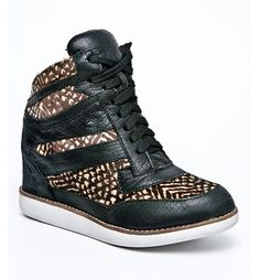 GIO Mid Wedge Sneaker by Jeffrey Campbell #sneaker #shoe #fashion