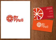 My Pizza - logo design, print and business cards
