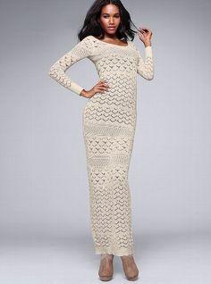 Crochet Maxi Dress #VictoriasSecret http://www.victoriassecret.com/clothing/dresses/crochet-maxi-dress?ProductID=68762=OLS?cm_mmc=pinterest-_-product-_-x-_-x