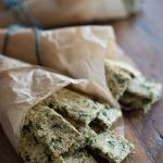 Cheezy Kale Crackers