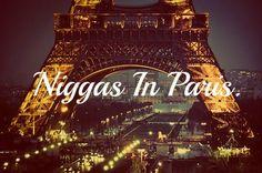 #watchthethrone #kanyewest #jayz #niggas #paris
