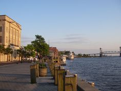 Downtown Wilmington (near NC Battleship)