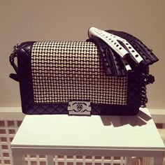 Chanel Boy Reverso Quilted Bag - Cruise 2014