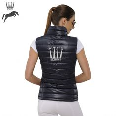 Spooks Logo Gilet - Navy - NOW £65.00