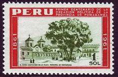 Peruvian stamp.