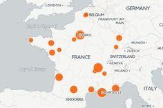 Smart cities : la carte des villes intelligentes en France - JDN