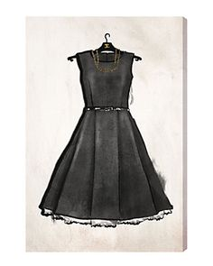 Little Black Dress by The Oliver Gal Artist Co.
