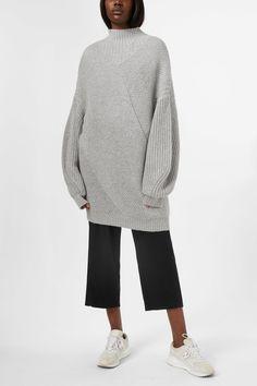 BIANCO High Knitted Pull-On Trainer - EZRA Vente À Bas Prix FAJFVS7G