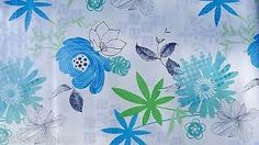 Image result for blue green oilcloth