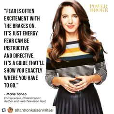 Marie Forleo- the mentor I have yet to meet.